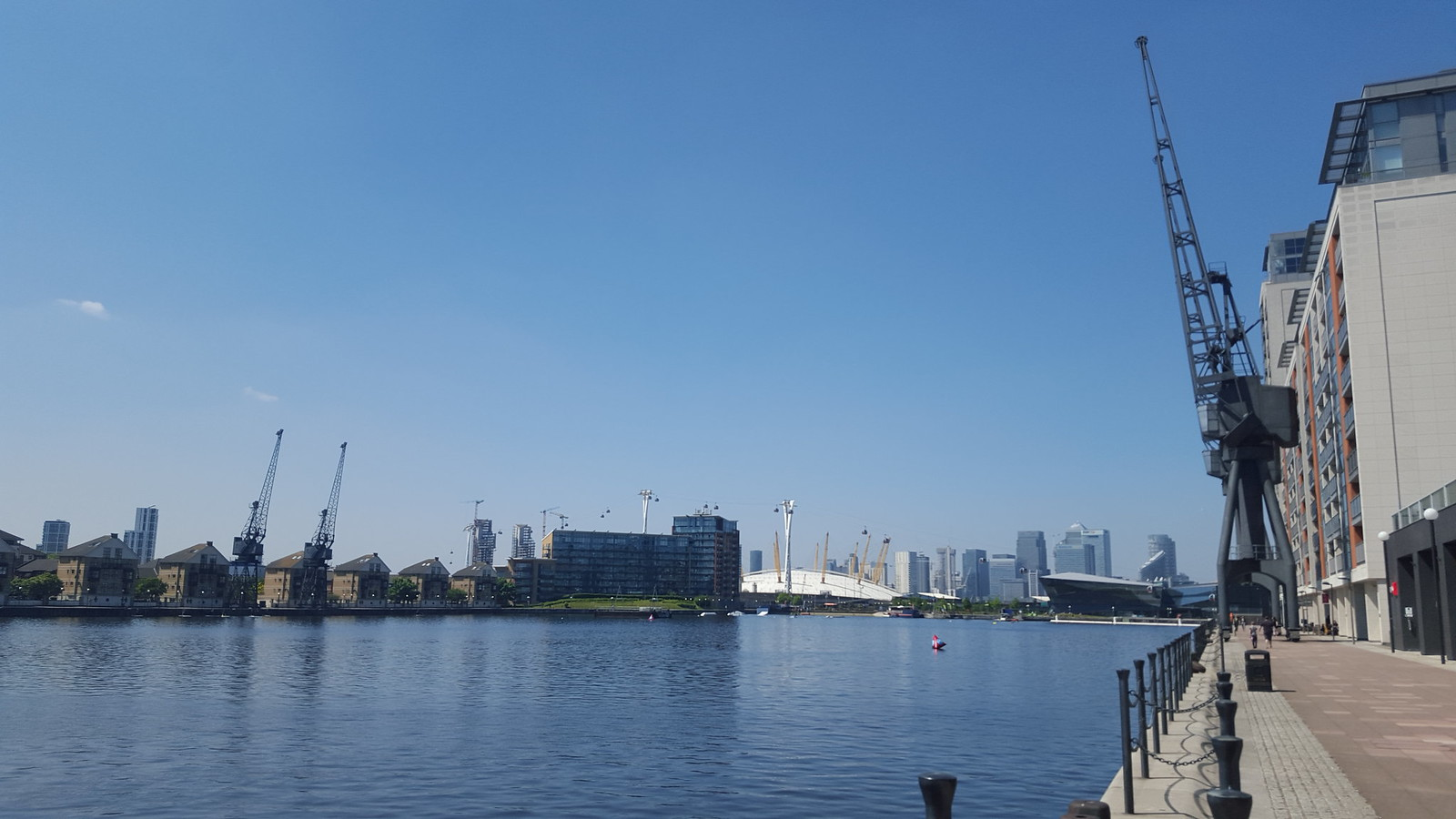 The Line walk (Stratford to North Greenwich)