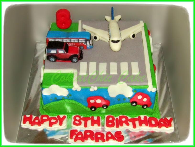 Cake Airport FARRAS 18 cm