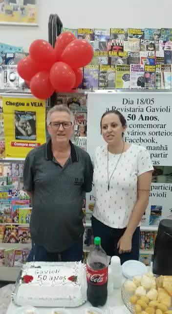 50 anos Revistaria Gavioli