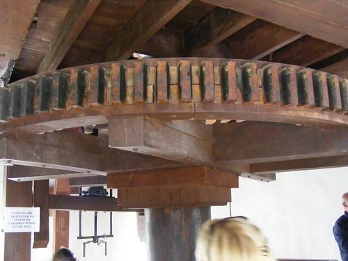 Wooden gear wheel, Blennerville Windmill