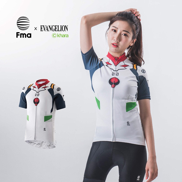 騎著自行車體驗「暴走」快感!《福音戰士新劇場版》EVANGELION x Fma 聯名自行車衣系列第二彈