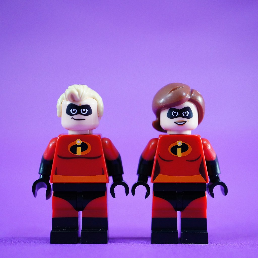 Mr. and Mrs. Incredible Front