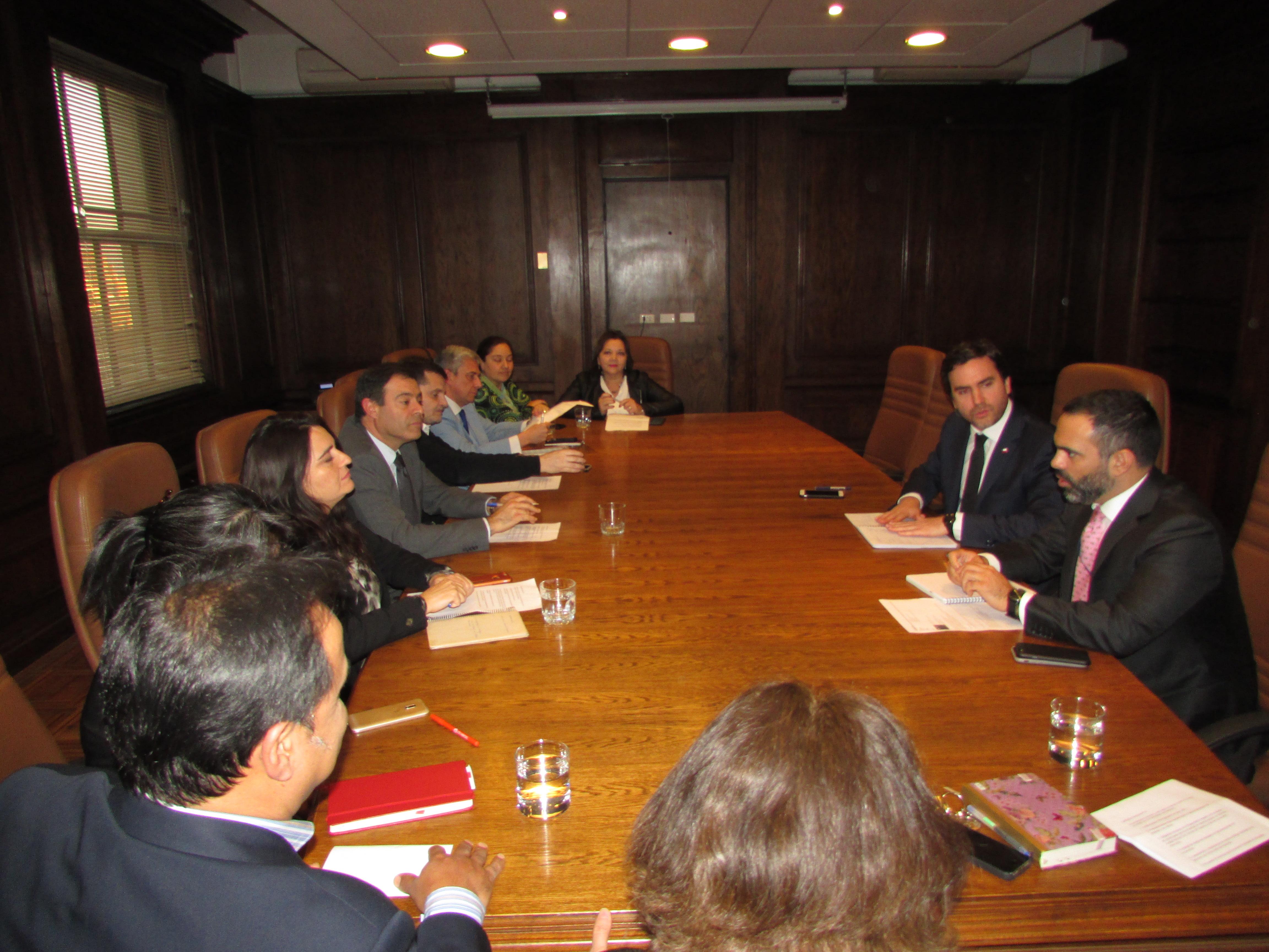 FTH realiza primera Mesa de Trabajo con Hacienda - 22 Mayo 2018