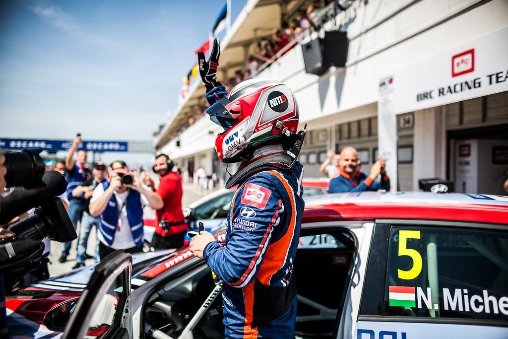 MICHELISZ Norbert (HUN), BRC Racing Team, Hyundai i30 N TCR, portrait during the 2018 FIA WTCR World Touring Car cup, Race of Hungary at hungaroring, Budapest from april 27 to 29 - Photo Thomas Fenetre / DPPI