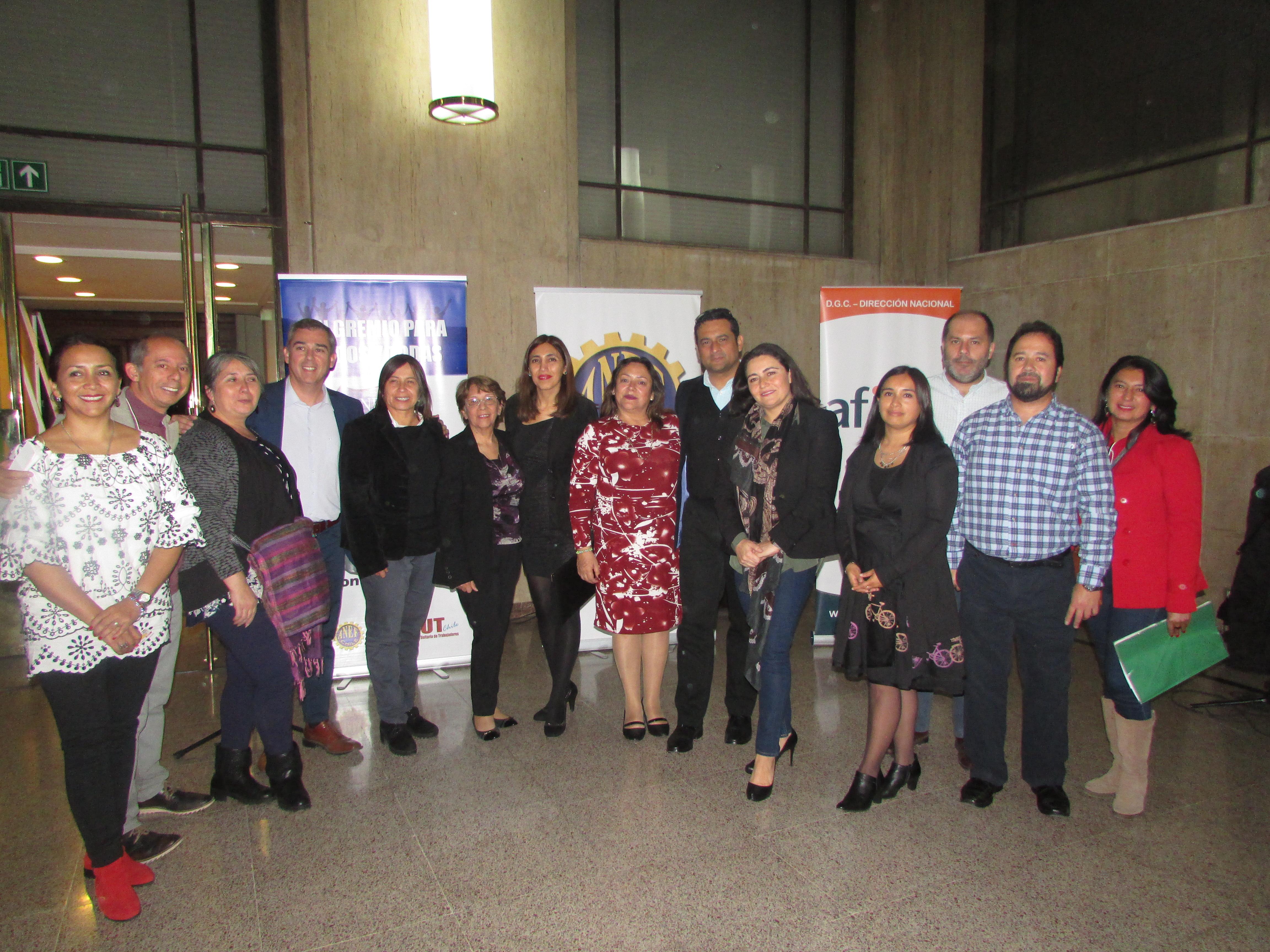 AFIICH DGC y ANEIICH DN-DGC conmemoran Día Internacional del Trabajador 2018 - 27 Abril 2018
