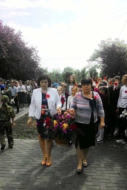 Мітинг пам'яті до Дня Перемоги в ЗОШ № 60