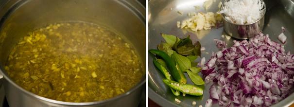 Vazhaipoo Poriyal cooking steps by GoSpicy.net