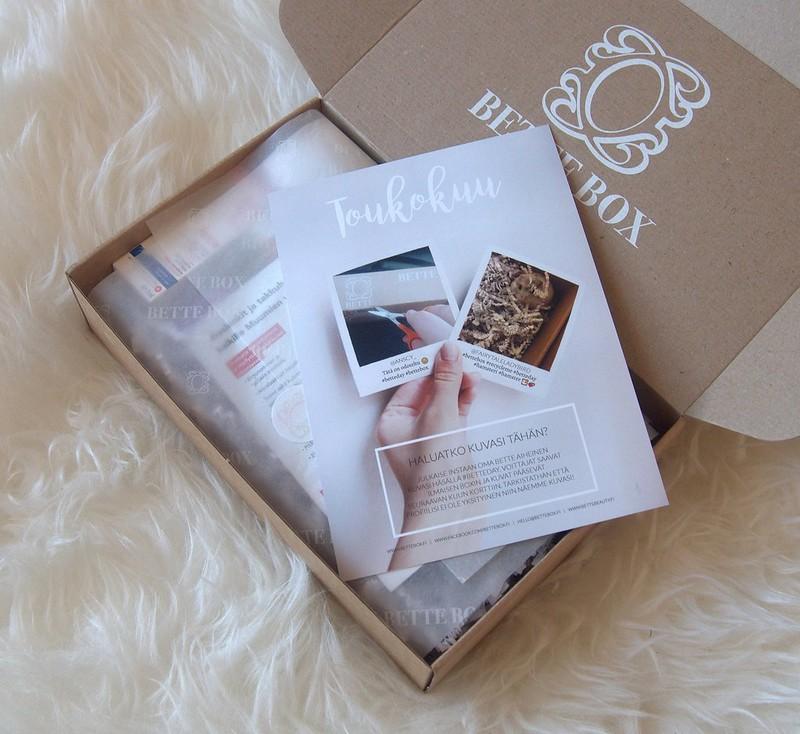 Toukokuun Bette Box
