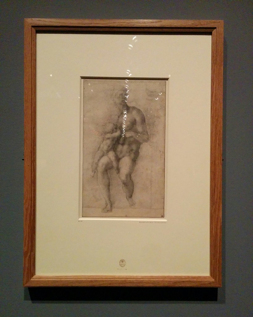 Risen Christ #newyorkcity #newyork #metmuseum #metmichaelangelo #michaelangelo #drawing #latergram