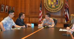 Taiwan Economic and Cultural Director Visit