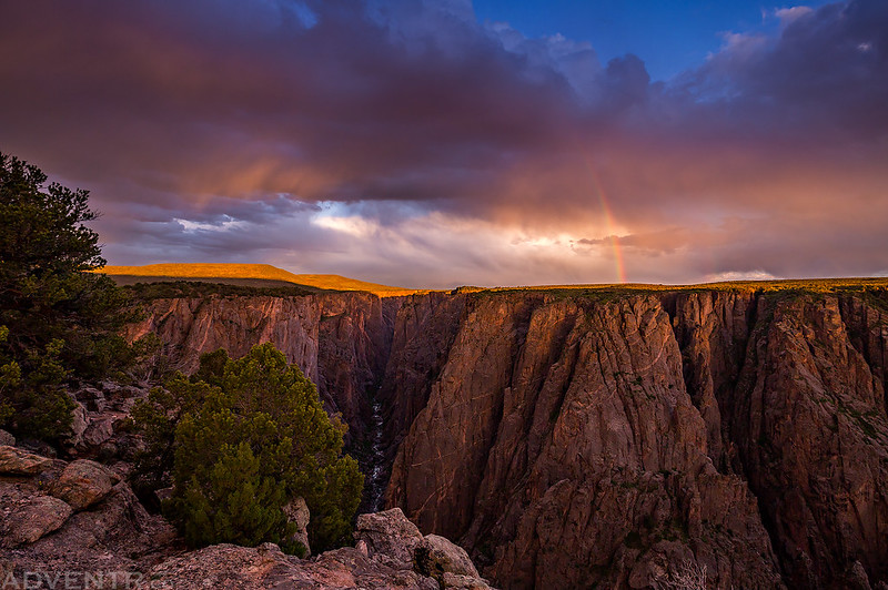 Black Canyon Rainbow