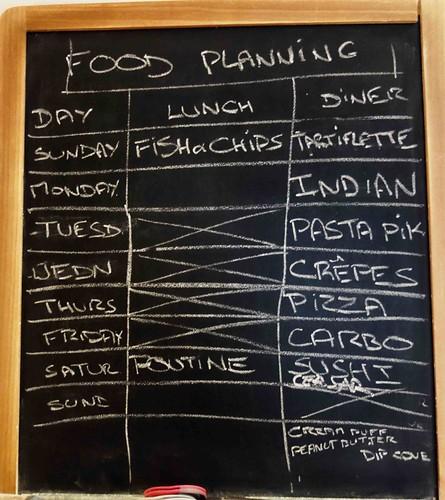Planning food