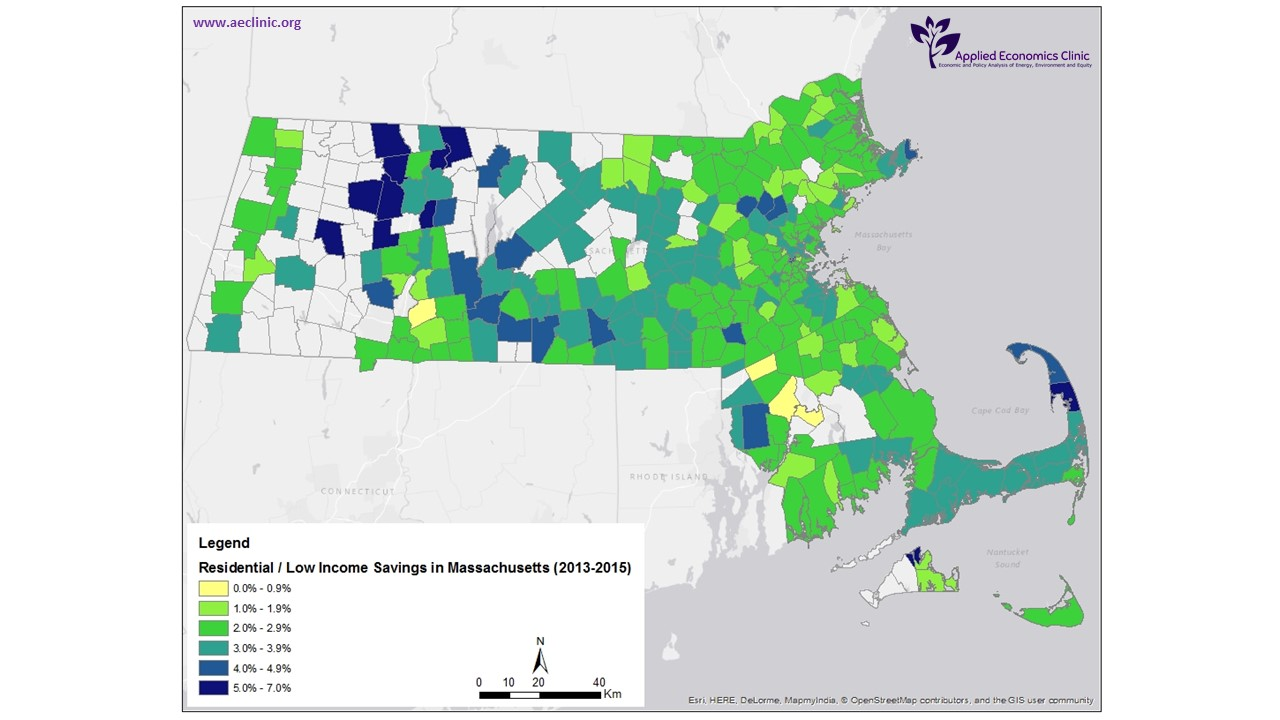 Map of Savings Across Massachusetts