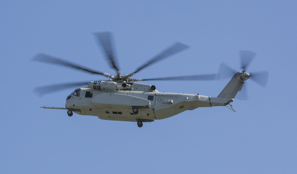 ILA Berlin CH-53K Demo Flight