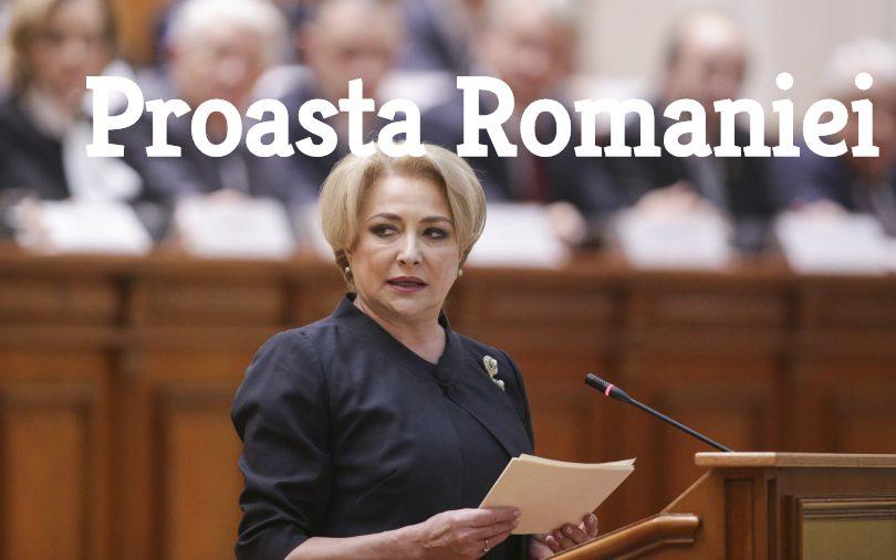 Viorica Dăncilă, proasta României