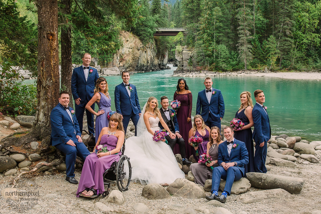 Bridal Party - Fraser River near Mount Robson BC