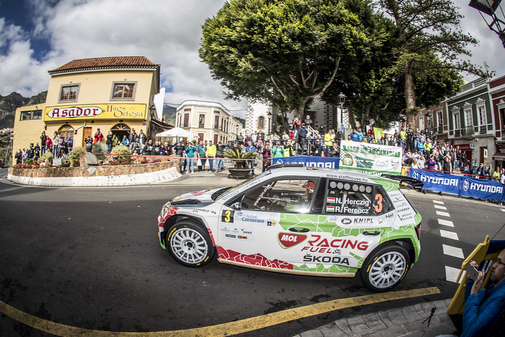 during the 2018 European Rally Championship ERC Rally Islas Canarias, El Corte Inglés,  from May 3 to 5, at Las Palmas, Spain - Photo Gregory Lenormand / DPPI