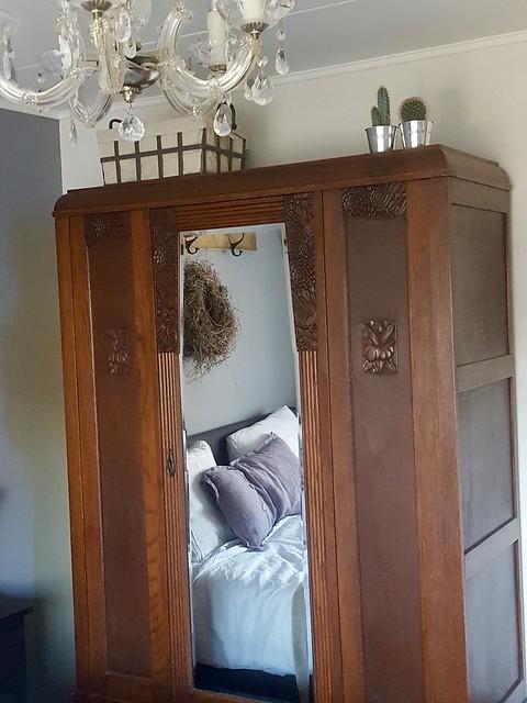 Brocante kast slaapkamer