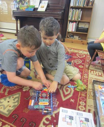 building the light dancing circuit