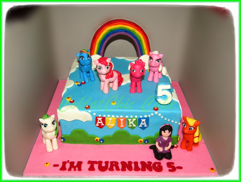 Cake My Little Pony ALIKA 20 cm