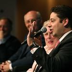 Ricardo Treviño Chapa makes the audience laugh