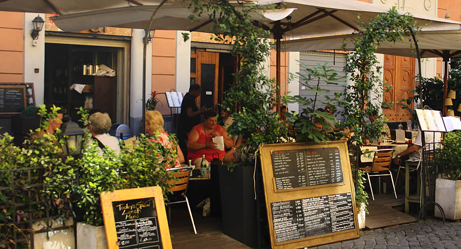 Uit eten in Trastevere, restaurants in Trastevere | Mooistestedentrips.nl
