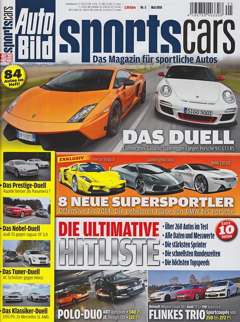 Auto Bild Sportscars 5/2010