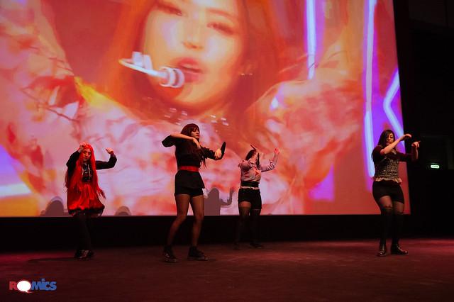 K-pop Contest Italia Special Romics aprile 2018