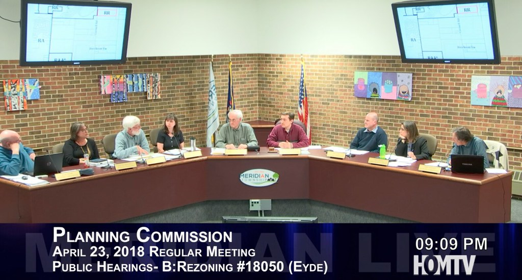 Planning Commission Took a Straw Vote on Rezoning on Cornell Road