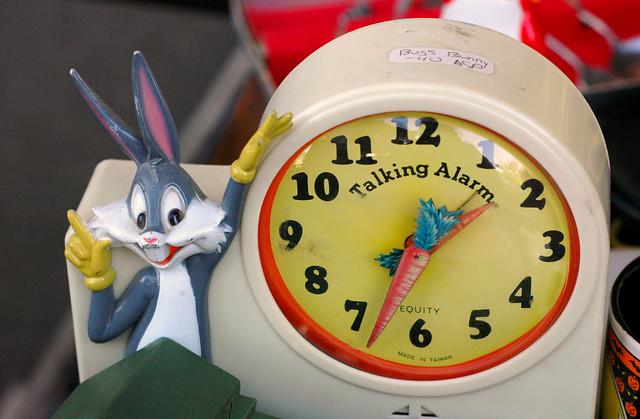Bugs Bunny Talking Alarm, Nikon D70, AF Nikkor 50mm f/1.8 N