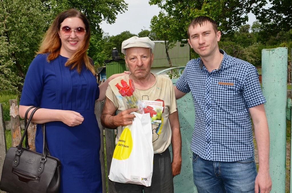 обогатители ЦОФ Павлоградская поздравляют ветеранов