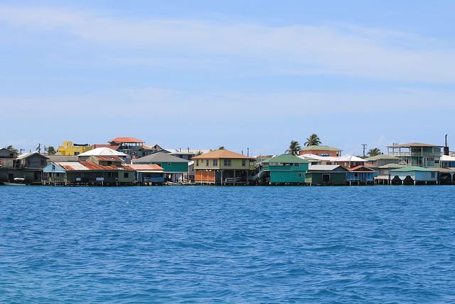 Bonacca Waterfront, Guanaja, Bay Islands of Honduras