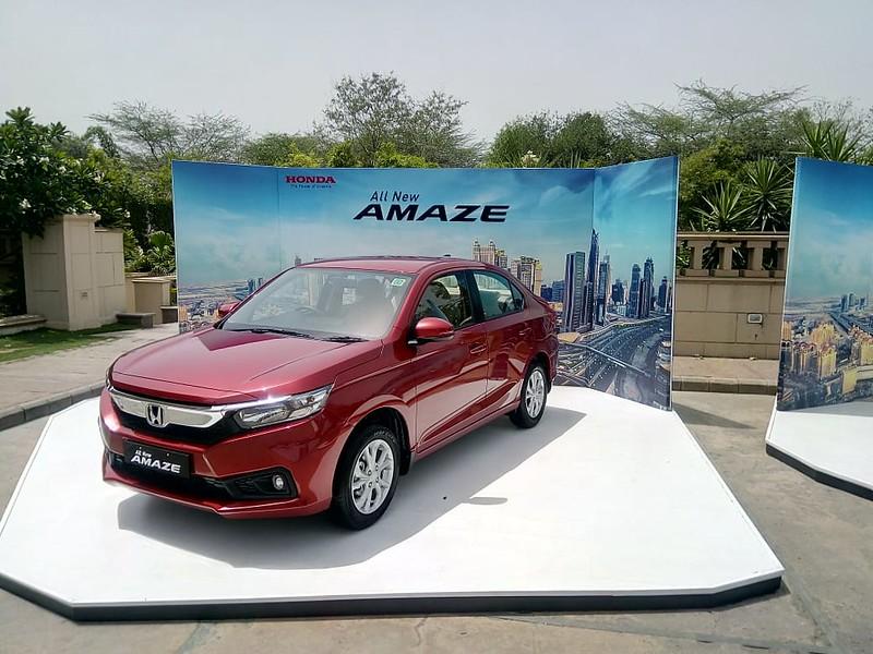 2018 Honda Amaze Launch