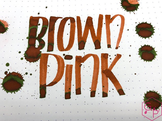 Krishna Inks Brown Pink Fountain Pen Ink Review @PenChalet 12