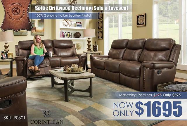 90301 Softie Driftwood Living Set_New