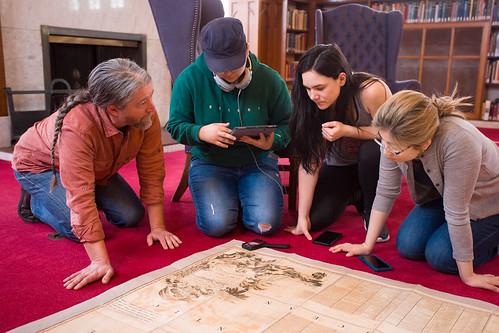 Anthropology Class Studies Historic Maps
