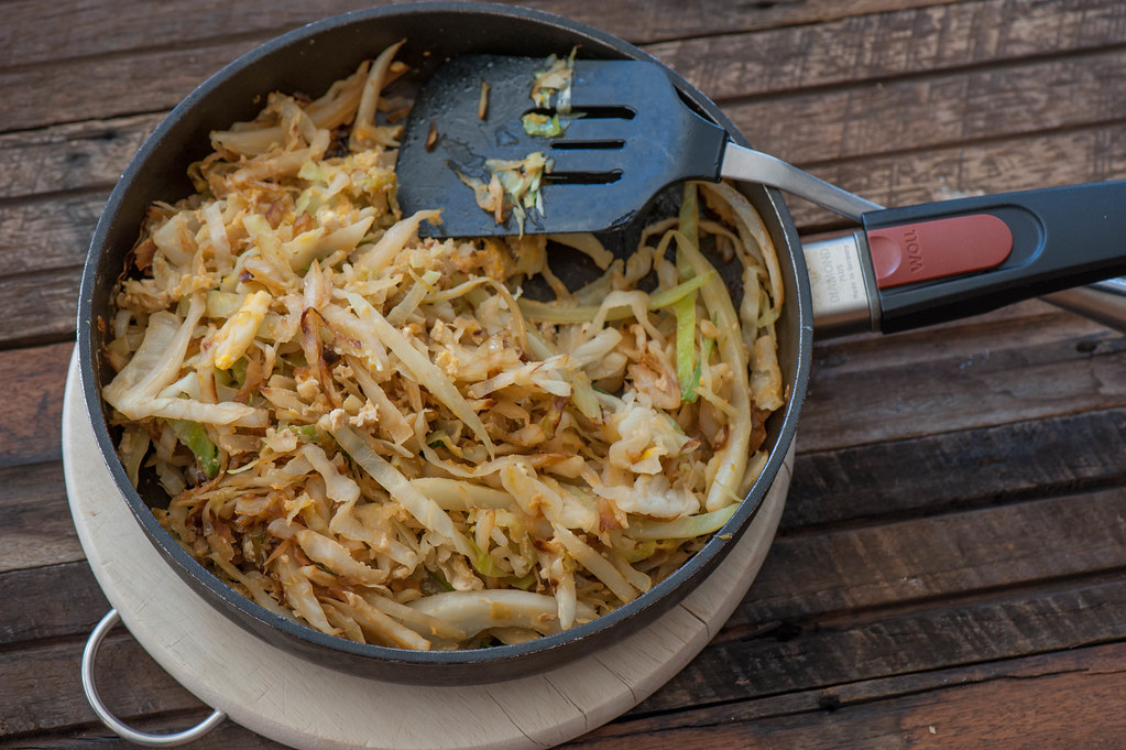 Egg Fried Cabbage