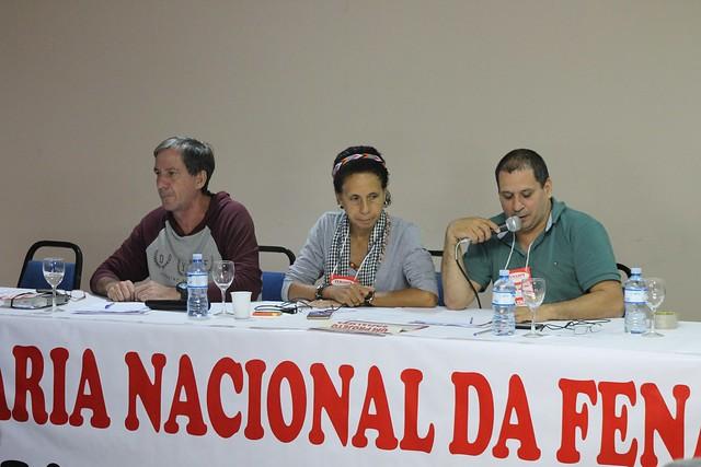 Plenária Nacional da Fenasps, realizada em Brasília em 20 de maio de 2018