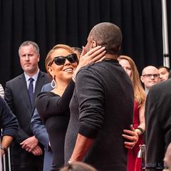 Mariah Carey at Chinese Theatre, Hollywood, 1 November 2017