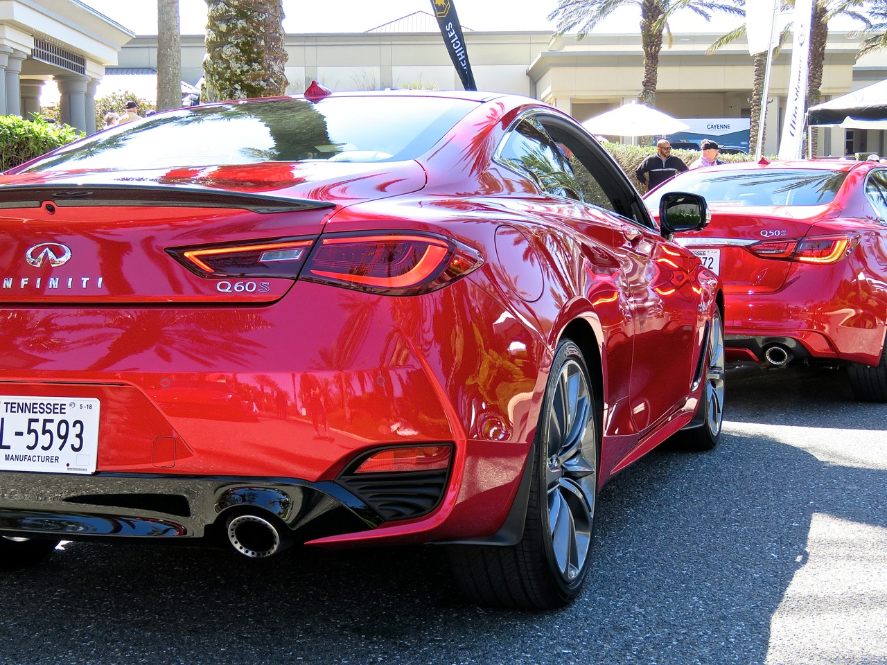 Infiniti Q60 Red Sport 400 AWD Review 6
