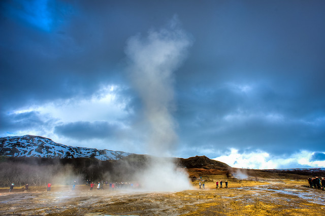 A Strokkur of Luck