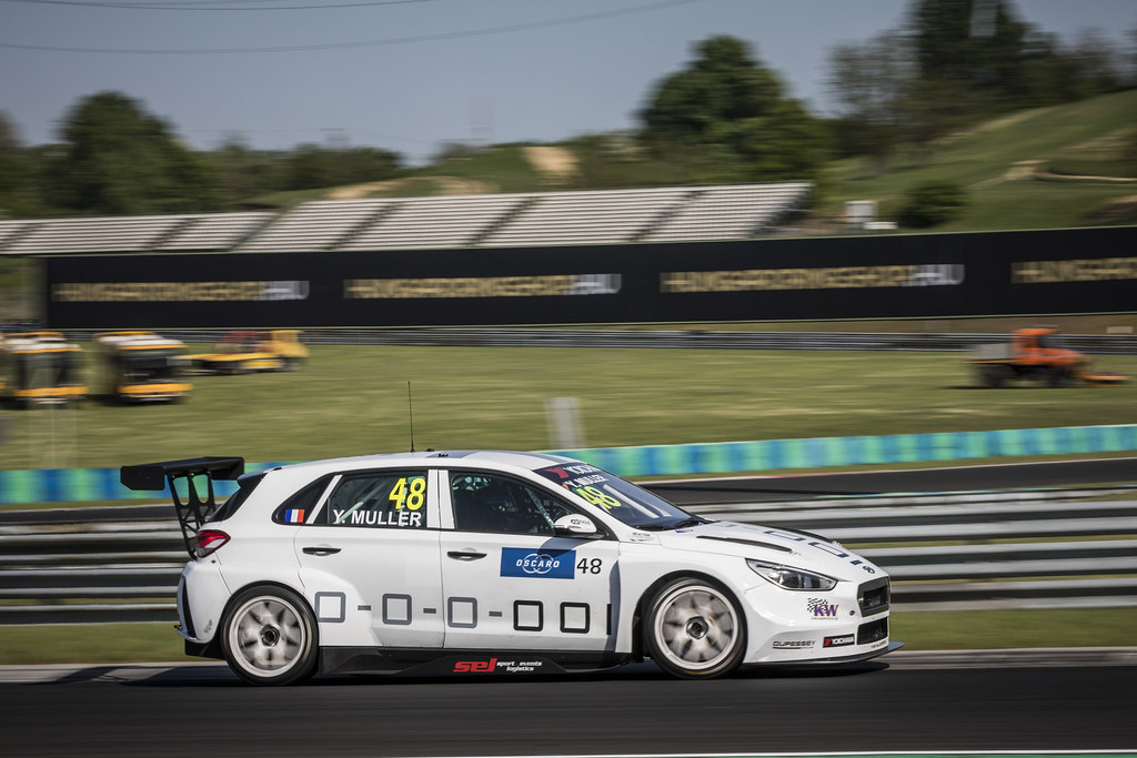 48 MULLER Yvan (FRA), YMR, Hyundai i30 N TCR, action during the 2018 FIA WTCR World Touring Car cup, Race of Hungary at hungaroring, Budapest from april 27 to 29 - Photo Gregory Lenormand / DPPI