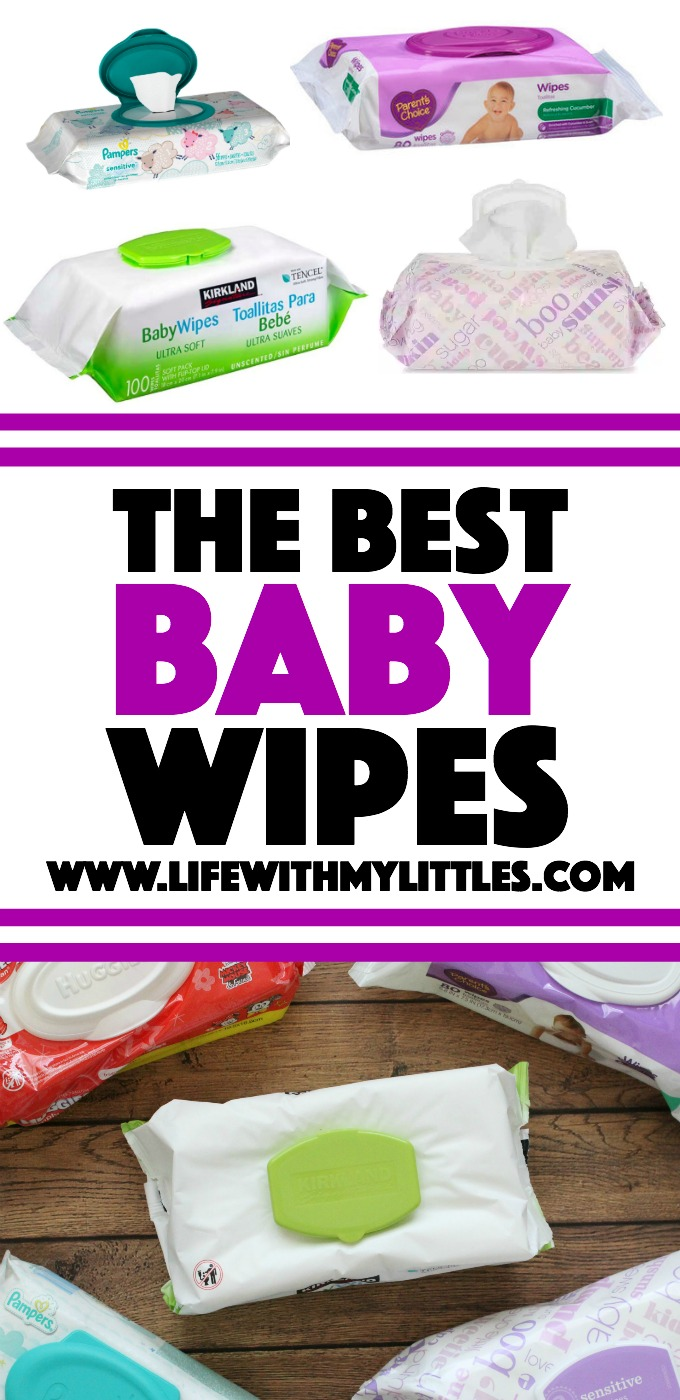 Want to know which baby wipes are the best baby wipes? Check out this comparison of five different baby wipes done by a mom of three. You'll be surprised!