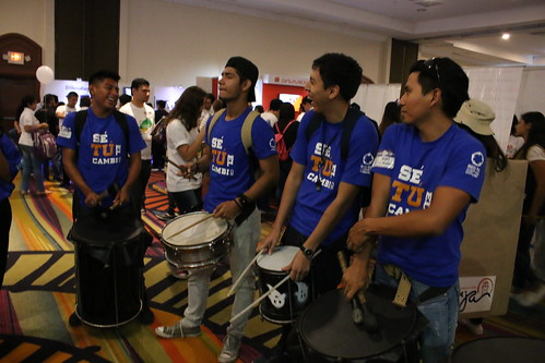 Secretaría General del SICA impulsa participación de jóvenes en el proceso de la integración centroamericana durante feria de voluntariado Joven 360