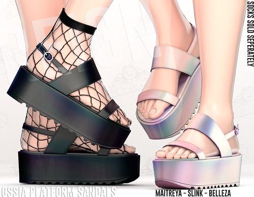Reign.- Ossia Platform Sandals