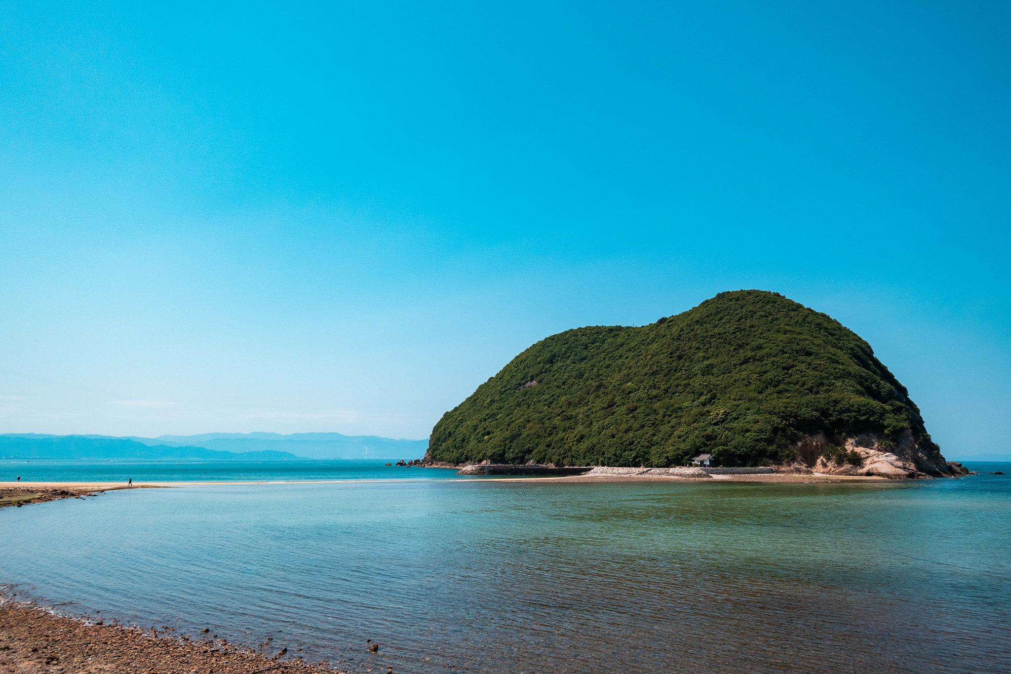 鴨之越 丸山島