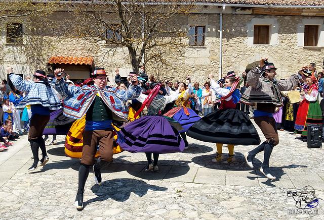 Danzas Burgalesas Justo del Río en la Romería Popular a Santa Casilda 5