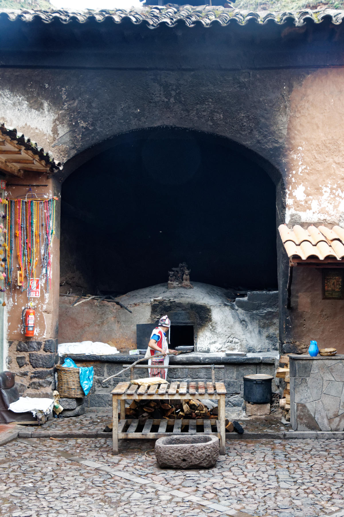 Pisac - public baking oven