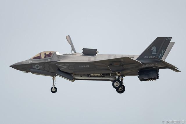 Iwakuni FD 2018 (79) VMFA-121 F-35B VK-04/169168