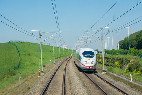 ICE on the high speed line Leuven<>Liège.